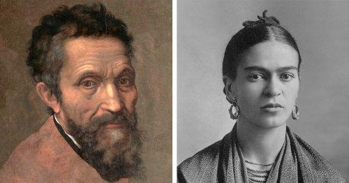 20 Famous Artists Everyone Should Know, From Leonardo da Vinci to Frida Kahlo
