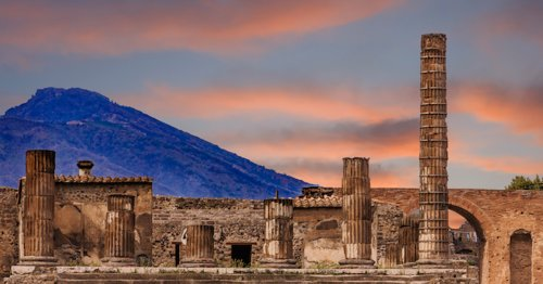 How a Volcanic Eruption Preserved the Ancient Roman City of Pompeii
