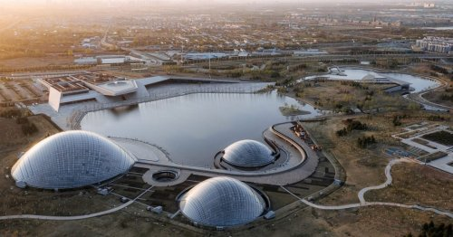 Each Dome in This Futuristic Botanical Garden Has a Different Climate and Plant Life