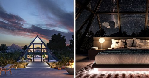 Be the First To Stay In an Luxurious Glass-Walled Tent Near the Grand Canyon