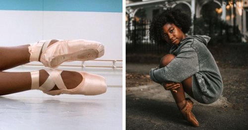 Inspiring Young Black Ballerina Receives First Pair of Pointe Shoes That Match Her Skin Tone
