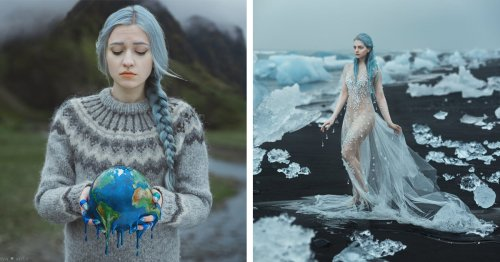 Photographer Personifies Dire Climate Change Issues in '2.5 Seconds' [Interview]