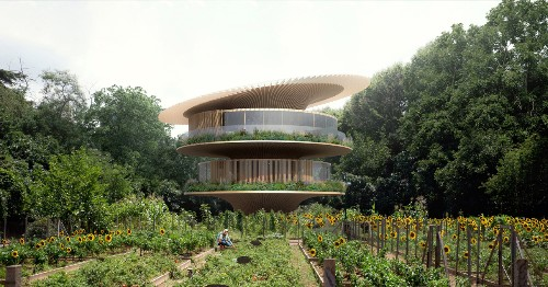 Sunflower-Inspired House Moves Towards the Sun Just Like Plants Do