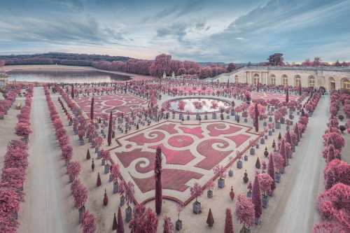 Paris Is Transformed Into a Cotton-Candy Wonderland in Surreal Infrared Photos