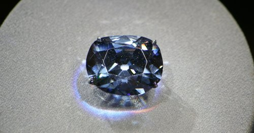 Learn About the Hope Diamond, A Stunning Blue Stone Some Say Is Cursed