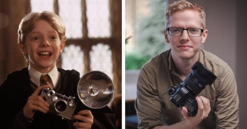 Actor Who Played Colin Creevey in 'Harry Potter' Film Is Now a Professional Photographer