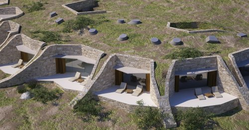 This Croatian Hotel Is Carved Under an Olive Orchard To Blend With Its Surroundings