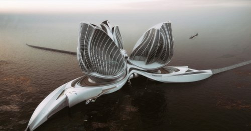 Gorgeous Floating Research Station That Cleans Oceans Wins the 2020 Grand Prix Award