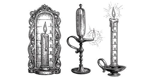 Discover 'Candle Clocks': History's Original Alarm Clocks Before Electricity