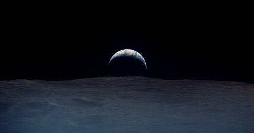 Amazing Restored Photos of Earth Taken by Apollo Astronauts