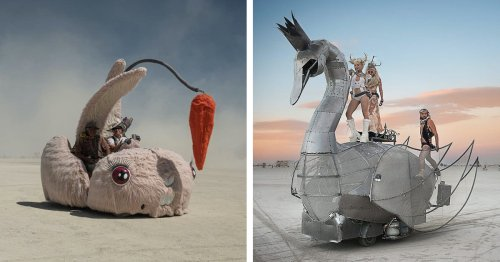 Photographer Documents the Otherworldly 'Mutant Vehicles' That Inhabit Burning Man [Interview]