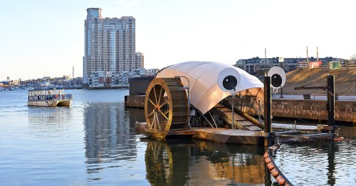 'Mr. Trash Wheel' and His Baltimore Family Are Helping Keep Our Waters Clean