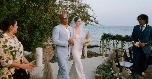 Vin Diesel Walks Late Paul Walker's Daughter Meadow Down the Aisle