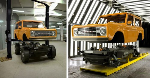 This Cutting-Edge Company Can Transform Any Classic Vehicle Into an Electric Car