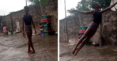 11-Year-Old Nigerian Boy Gets International Dance Scholarship Because of Barefoot Ballet Video