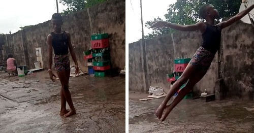 11-Year-Old Nigerian Boy Gets International Dance Scholarship Because of Barefoot Ballet Video