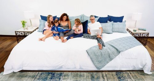12-Foot-Wide Mattress Is Large Enough To Fit the Whole Family and Then Some