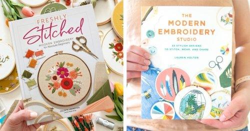10 How-To Embroidery Books Filled With Creative Stitching Projects