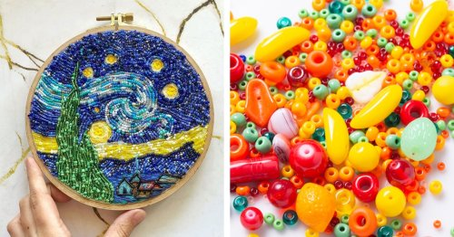 DIY: How To Make Your Own Bead Embroidery (Including an Essential Supply List and Helpful Tutorials)