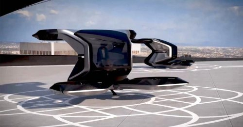 Cadillac Designed a Futuristic Flying Car That Could Be a Taxi in the Sky