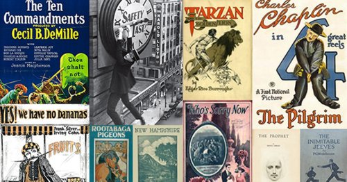 Hundreds of Copyrighted Works Finally Enter the Public Domain After 95 Years