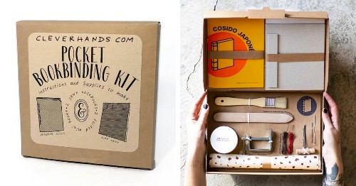 11 Bookbinding Kits That Will Have You Crafting Your Own Books in No Time