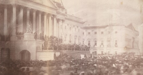 This Is the Oldest Known Photograph of a U.S. Presidential Inauguration