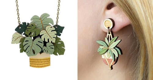Celebrate Your Favorite Houseplants With This Statement-Making Jewelry