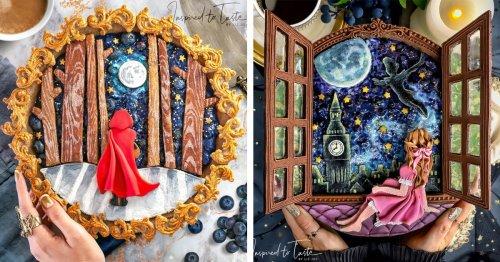 Baker Retells Fairytale Stories Through Her Fantasy Art Pies