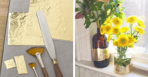 10 Gold Leaf Crafts To Try if You Can't Get Enough Of the Shiny Mineral