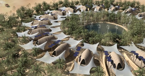 Architects Design Self-Sufficient Biocabins That Adapt To a Post-Climate Change World