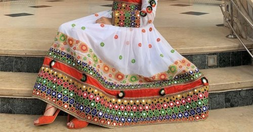 Afghan Women Are Sharing Photos of Colorful Traditional Dresses in Protest of Taliban Clothing Mandate