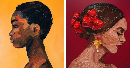 Vibrant Palette Knife Paintings Capture the Beauty and Strength From Around the World