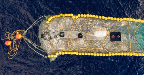 The Ocean Cleanup Successfully Hauls 20,000 Pounds of Plastic From the Pacific Ocean