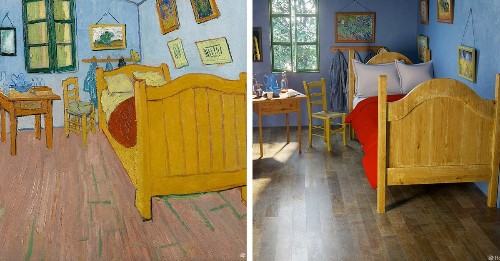 Rooms From Famous Paintings Brought to Life With Realistic CG Renditions