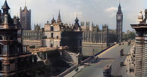 AI Technology Colorizes Rare Video Footage of WWII London To Bring the Era to Life