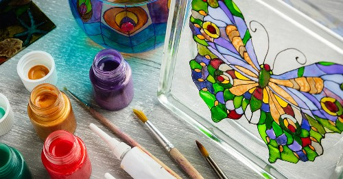 You Can Craft Beautiful Stained Glass at Home With These Colorful Kits