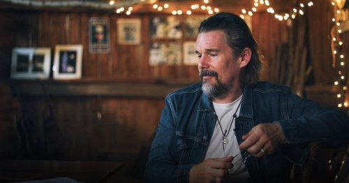 """Watch Actor Ethan Hawke's Inspiring TED Talk on Giving Yourself """"Permission To Be Creative"""""""