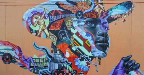 Massive Mural of Black Cowgirl Pays Tribute to Deep Ellum's Rich Cultural History