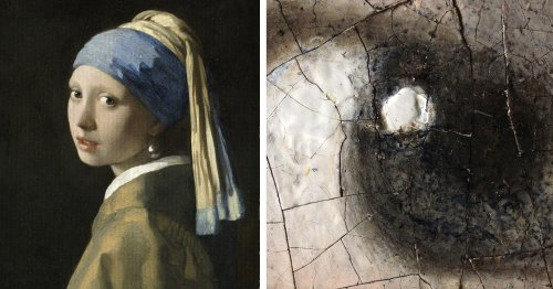 10-Billion-Pixel Scan of 'Girl with a Pearl Earring' Reveals Incredible Details the Naked Eye Couldn't See on Its Own