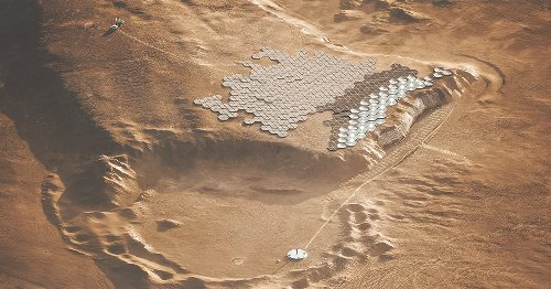 1 Million Humans Could Live on Mars in Plans for the First Self-Sufficient City