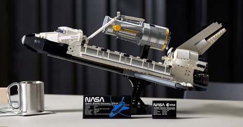 LEGO Worked With NASA To Create Its Most Detailed Space Shuttle Discovery Set Yet