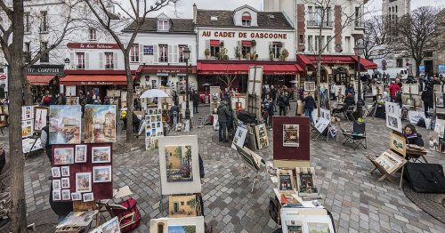 Get to Know Montmartre, Paris' Legendary Artist Neighborhood on a Hill