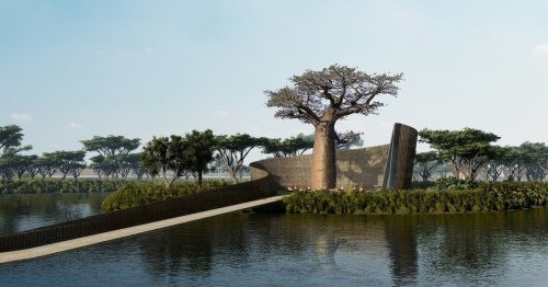 Architects Design a Senegalese Hotel Resort Built Around the Local Baobab Trees