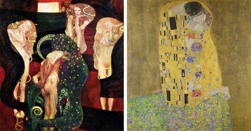 Cette Exposition En Ligne Présente 63 Chefs-D'œuvre De Klimt, Y Compris Des Peintures Perdues Dans L'incendie De 1945