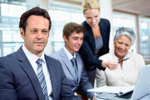 Actor Vince Vaughn Hilariously Stars in Real iStock Photos