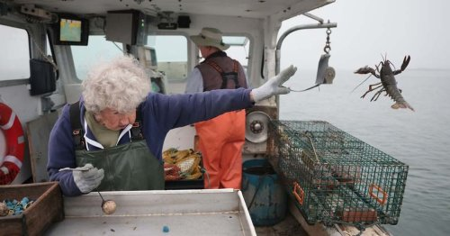 101-Year-Old Woman Is Still Working on a Lobster Boat With No Plans To Retire