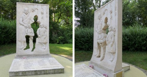Memorial Uses an Empty Silhouette To Honor Soldiers Who Fought in WWI and WWII