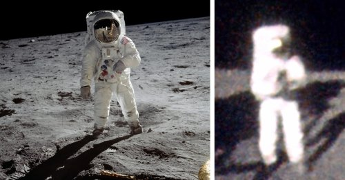 We Now Have Buzz Aldrin's Perspective of the Moon Thanks to This Artist