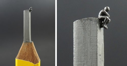 Talented Artist Turns Pencils Into Tiny Works of Art [Interview]